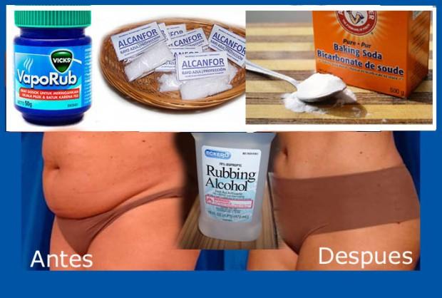 como usar el vick vaporub para reducir abdomen